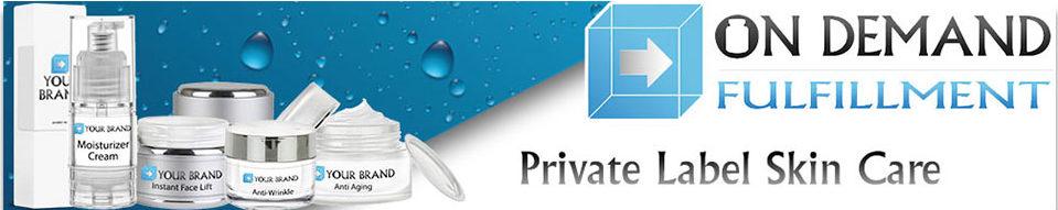 on demand private label skin care product fulfillment