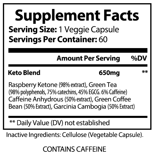 private label keto 5 weight loss supplement