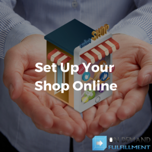 Setting up a supplement shop online