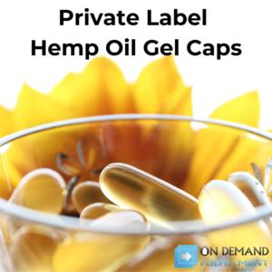 private label hemp oil gel caps