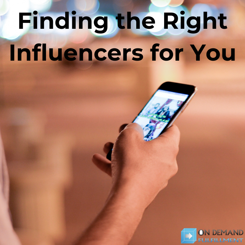 Finding the Right Influencers for You
