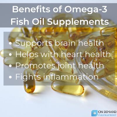 Omega-3 Fish Oil Benefits - on demand