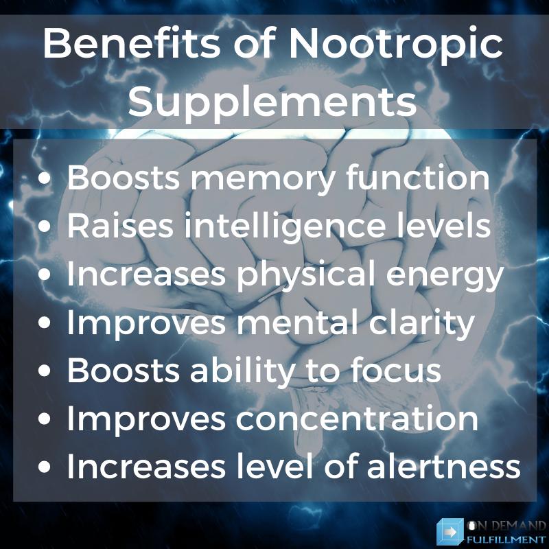 Benefits of Nootropic Supplements