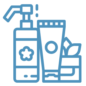 skin care product icons