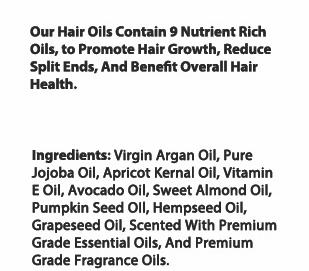 private label hair oil ingredient list